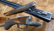 A.H. Fox XE 12ga shotgun..Strong original color , gorgeous figured wood & great dimensions!