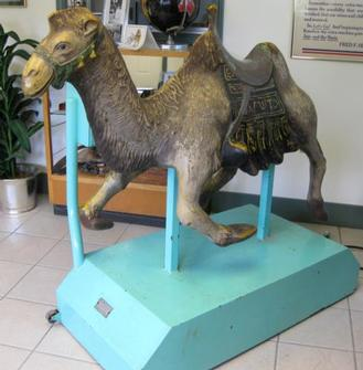 Tusko mechanical Camel .....never seen another!!!