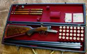 A.H. Fox Sterlingworth Deluxe  20ga Shotgun Cased